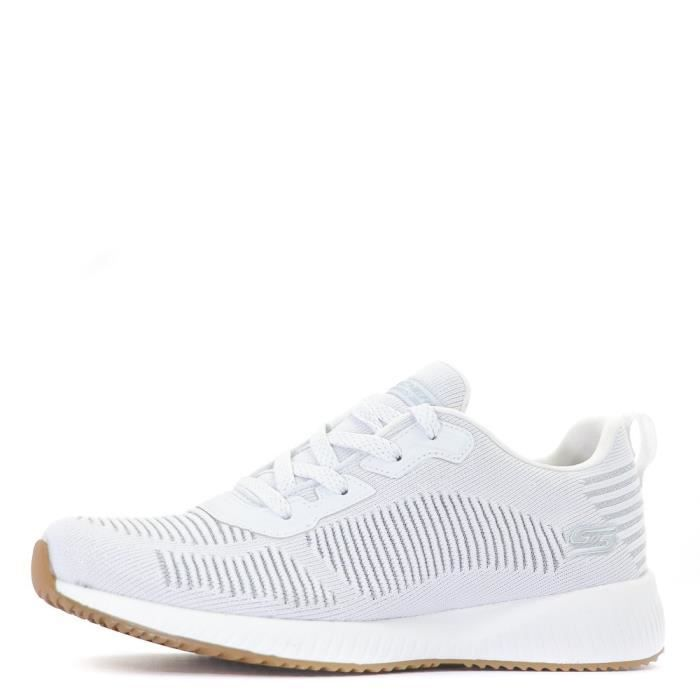 Bobs Squad Glam Femme Chaussures Fitness Blanc Skechers