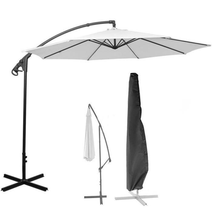 petrichorr Housse de parasol Imperméable à l'eau résistant à la déchirure 205cm