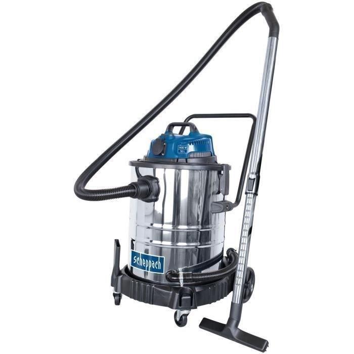 Aspirateur eau et poussière SCHEPPACH 1400 W - 50L - ASP50-ES