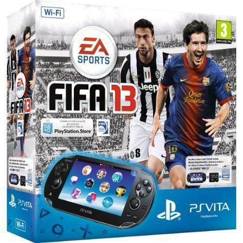 Console Playstation Vita Wifi Fifa 13 voucher C…