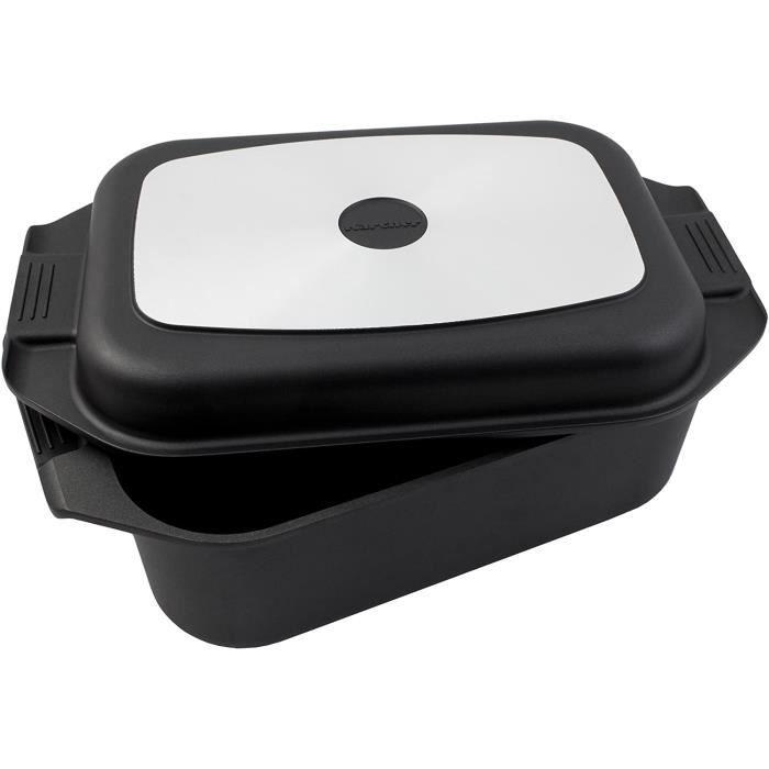 BRA Dupla Premiere Po/êle double /à omelette en fonte daluminium avec antiadh/ésif Compatible tous feux dont induction 20 cm