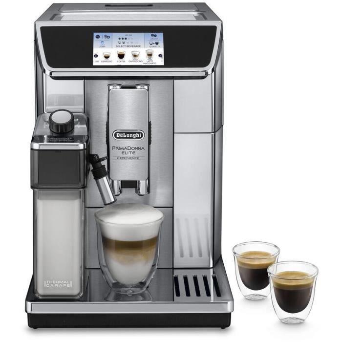MACHINE À CAFÉ DELONGHI ECAM650.85.MS Expresso broyeur connecté P
