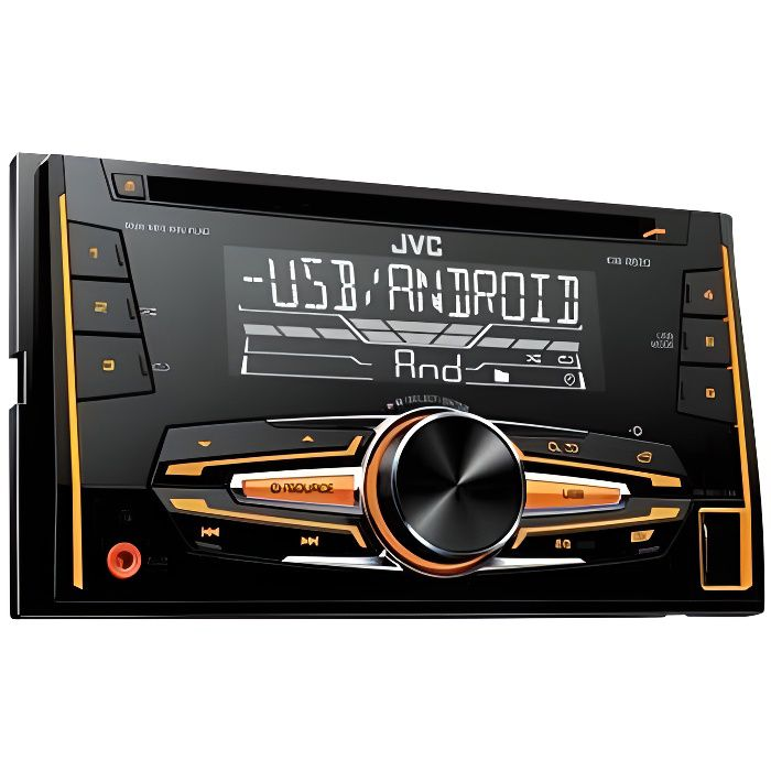 jvc kw r520 autoradio 2 din cd usb android variocolor 1 achat vente autoradio jvc kw r520. Black Bedroom Furniture Sets. Home Design Ideas