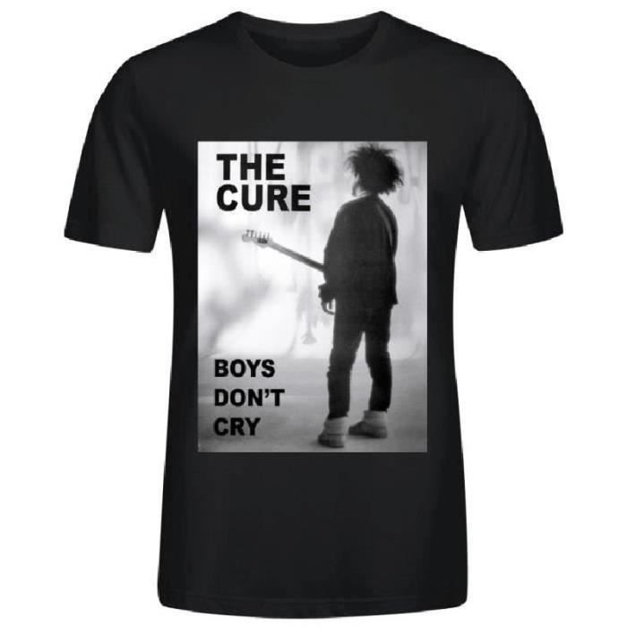 The Cure Boys Dont Cry T-Shirt Noir