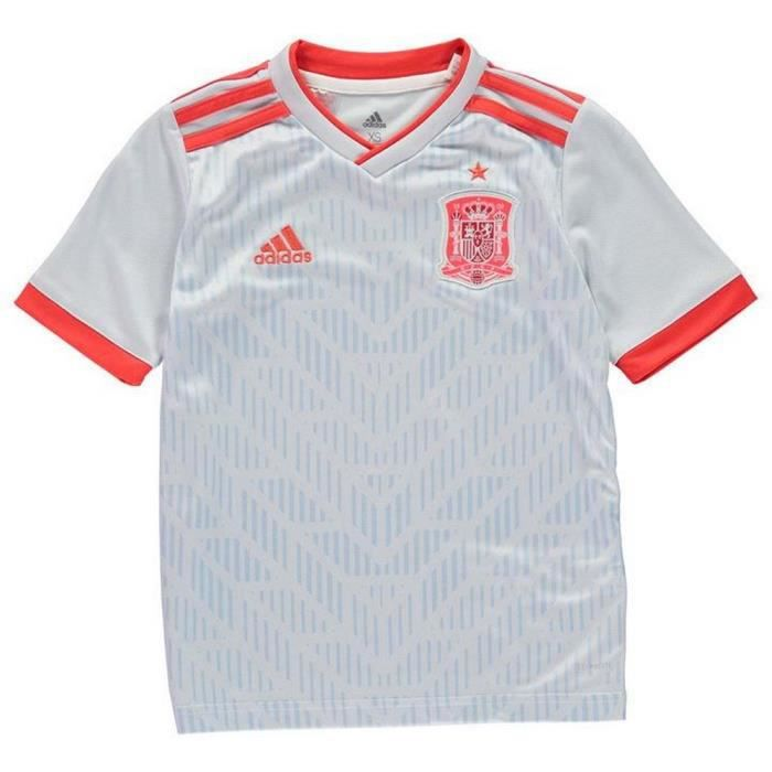best website 65693 145e7 Maillot Enfant Adidas Espagne Away Coupe du Monde 2018