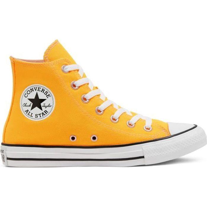 converse jaune moutarde