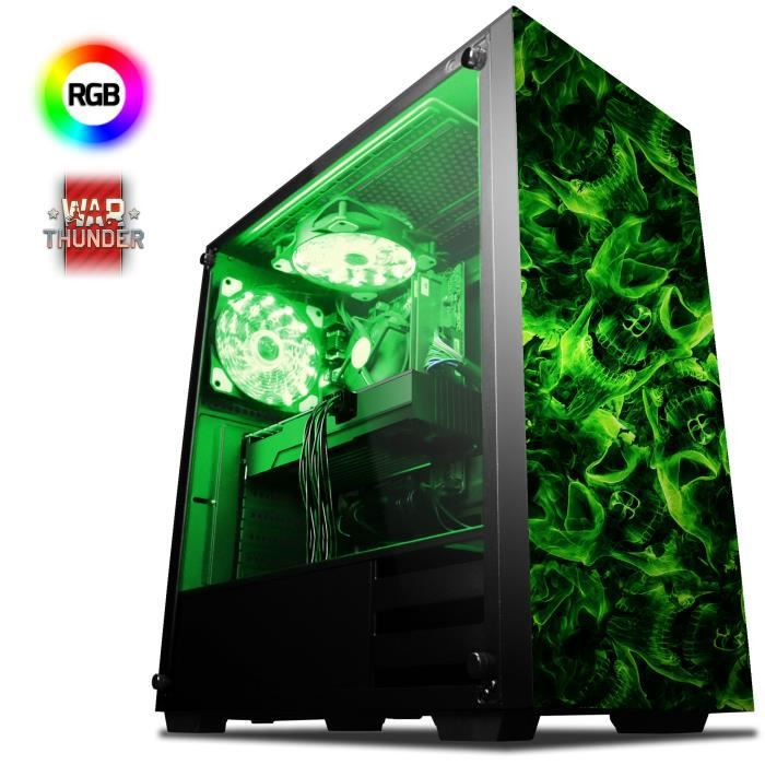 UNITÉ CENTRALE  VIBOX Killstreak RG160-125 PC Gamer Ordinateur ave