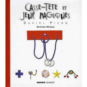 AUTRES LIVRES Casse-tête et jeux magiques