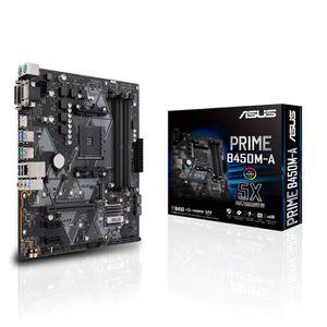 CARTE MÈRE ASUS PRIME B450M-A - carte mère GAMING (AMD Ryzen