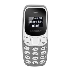 Téléphone portable TELEPHONE PORTABLE L8STAR BM10 Mini quadribande dé