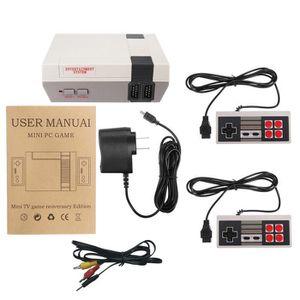 JEU CONSOLE RÉTRO Mini rétro classique Consoles de jeu intégré 600 e