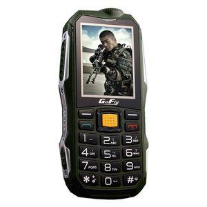 Téléphone portable Anglais Clavier Flashlight FM Extérieure Antichoc
