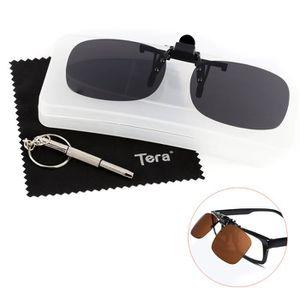 LUNETTES DE SOLEIL Tera® Clip-on lunettes de soleil polarisées unisex