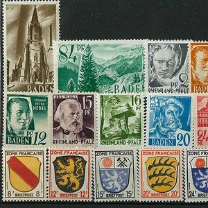 TIMBRE France -  50 Timbres Occupation