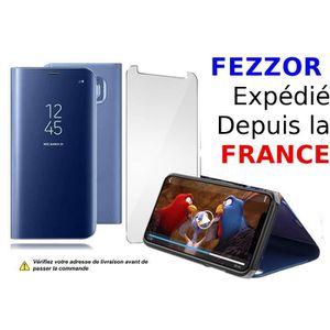 HOUSSE - ÉTUI Fezzor® Huawei P30 Lite, Coque Etui Flip Cover Eff