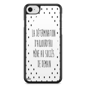 coque iphone 5 5s se phrase positive humour swag v