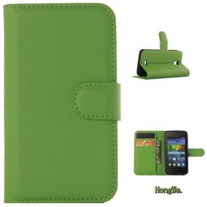 """COQUE - BUMPER RongLe® Huawei Y360 (4.0"""") Coque avec Support PU C"""