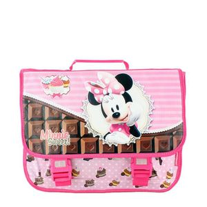 CARTABLE Cartable scolaire relief Minnie 40 cm 35 ROSE