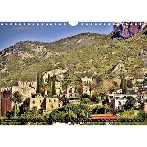ENSEMBLE LITERIE CD-20007 Chypre du Nord. Montagnes - paysage St A4
