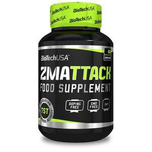 STIMULANT HORMONAUX ZMAttack 60caps Biotech USA - Zinc Magnesium Vitam
