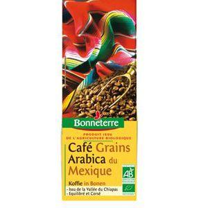 CAFÉ Bonneterre Cafe Mexique grains 250g