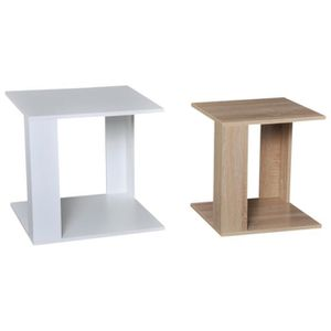 TABLE BASSE Tables basses gigognes style cosy lot de 2 tables