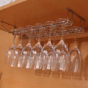 PORTE-VERRE 2 rangées rack a verre Porte-verre Acier inoxydabl