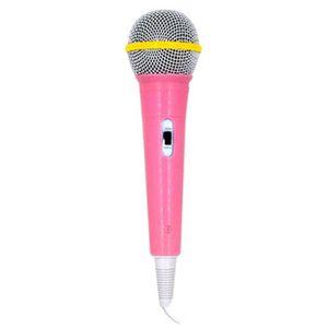 INSTRUMENT DE MUSIQUE Enfants Microphone avec fil Micro Karaoke Chant Ki