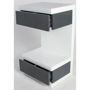 chevet suspendu achat vente chevet suspendu pas cher soldes cdiscount. Black Bedroom Furniture Sets. Home Design Ideas