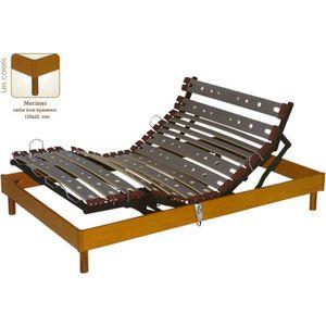 SOMMIER Sommier relaxation électrique Mono 140 x 190 :