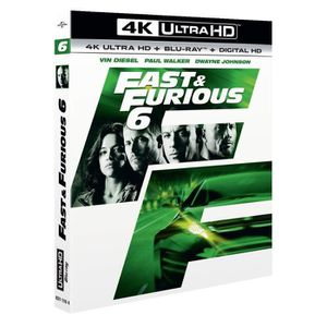 BLU-RAY FILM Fast and Furious 6 Bluray 4K