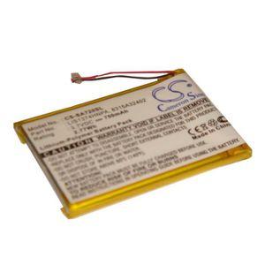 BATTERIE - CHARGEUR vhbw Li-Ion batterie 750mAh pour lecteur MP3 comme