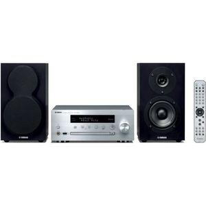 CHAINE HI-FI YAMAHA MCR-N470D Silver - Mini-Chaîne CD MP3 USB -