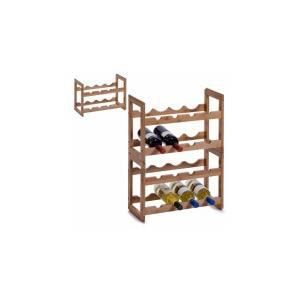 MEUBLE RANGE BOUTEILLE L'étagère à vin empilable, Bamboo…