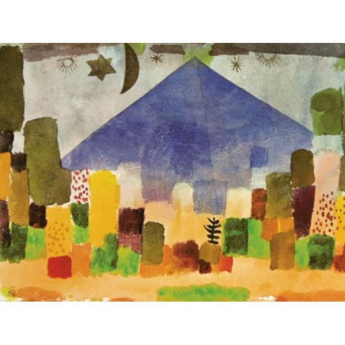 Paul klee papier peint photo poster le niesen achat for Decoration egyptienne murale