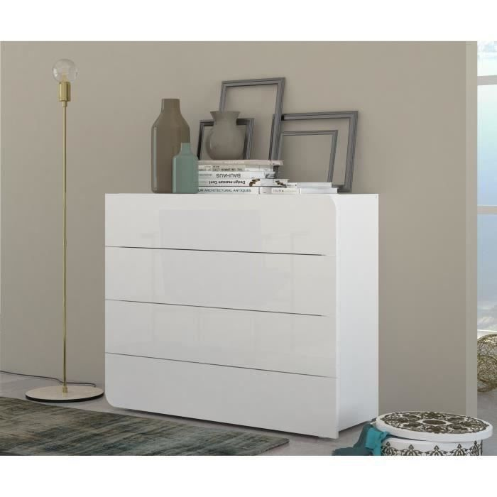 commode blanche 200 cm