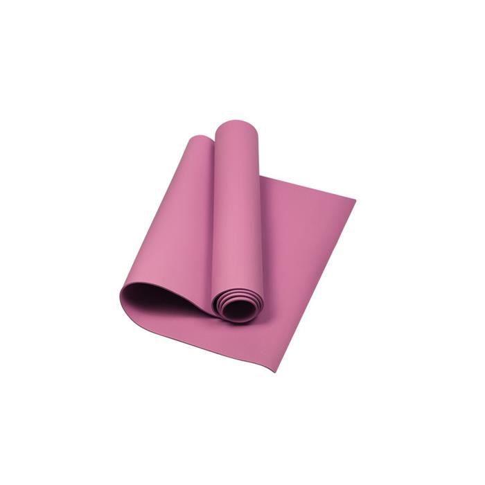 Tapis de yoga antidérapant monochrome pour hommes et femmes Tapis de sport Tapis de yoga 4 mm ZZX210112902PK_4807