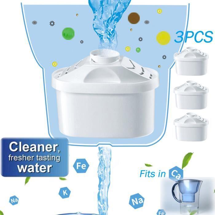 Pour BRITA Maxtra + Plus Filtre à eau Cartouches de rechange Cartouches Recharges Pack 3PCS Maison intelligente BOX DOMOTIQUE 356