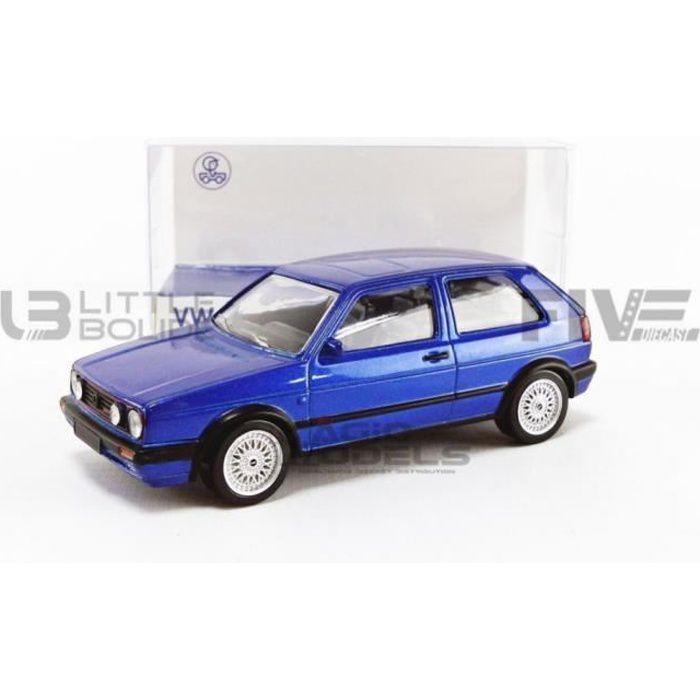 Voiture Miniature de Collection - NOREV 1/43 - VOLKSWAGEN Golf II GTI G60 - 1990 - Blue - 840064