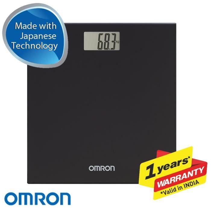 Pèse-personne OMRON Balance Digitale HN 289, Noir 184553