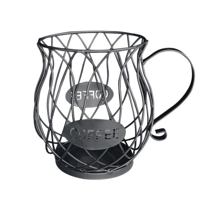 Set Accessoire Cuisine Support De Stockage Dosette Café En Forme Tasse Pour Le Comptoir LY32