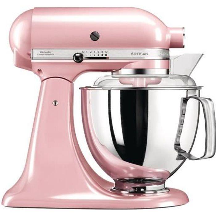 KitchenAid Artisan 5KSM175PSESP Robot pâtissier 300 Watt rose soyeux