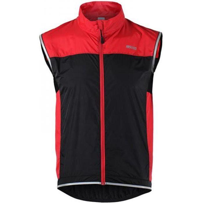 Tomatocart Vélo Veste Coupe-vent Imperméable Vtt Vélo Vélo Respirant Vêtements Réfléchissants Cyclisme Veste Sans Manches