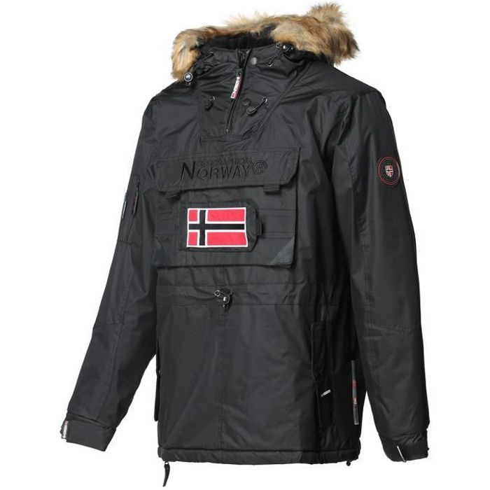 GEOGRAPHICAL NORWAY Parka Barbier New 001 - Homme - Noir