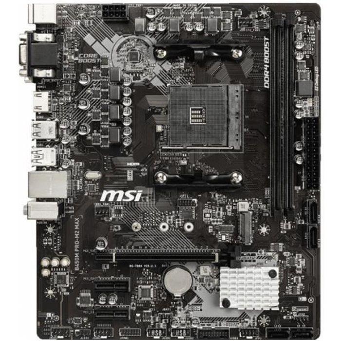 B450m Pro M2 Max 0,000000 Noir