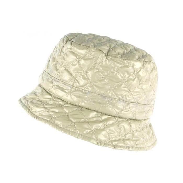 Chapeau de Pluie Femme Beige Clody Doublure Polaire Nyls Création - Taille unique - Beige