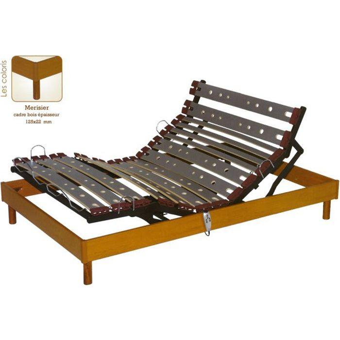 Sommier relaxation électrique Mono 140 x 190 :