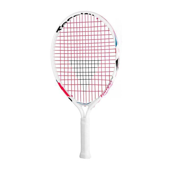 Raquette de tennis Tecnifibre T-Rebound Tempo 19 2018 coloris White - Pink - Black