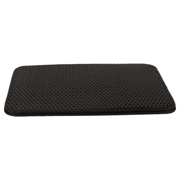 Tamis litière pour Bacs à litière, EVA - 40 × 55 cm - Noir