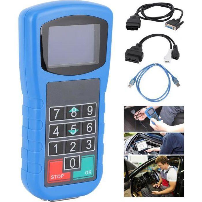 VBESTLIFE Scanner de diagnostic auto de Voiture CAN Plus 2.0 + Correction du Kilométrage + Lecteur